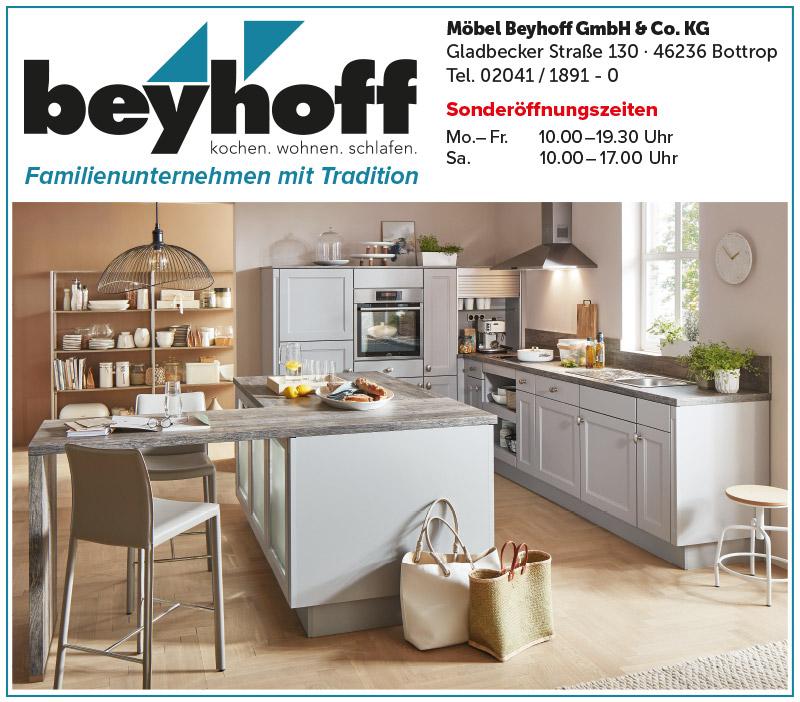 Küchen-Sonderverkauf bei Möbel Beyhoff