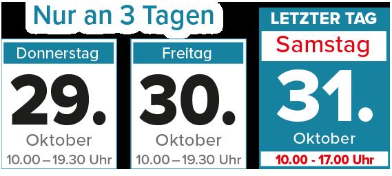 Nur 3 Tage Küchen-Sonderverkauf bei Möbel Beyhoff