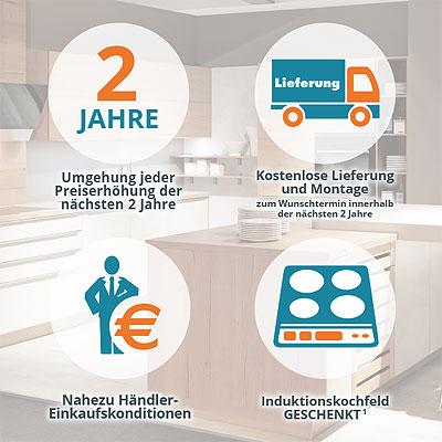 4 Exklusive Vorteile beim Küchen-Sonderverkauf