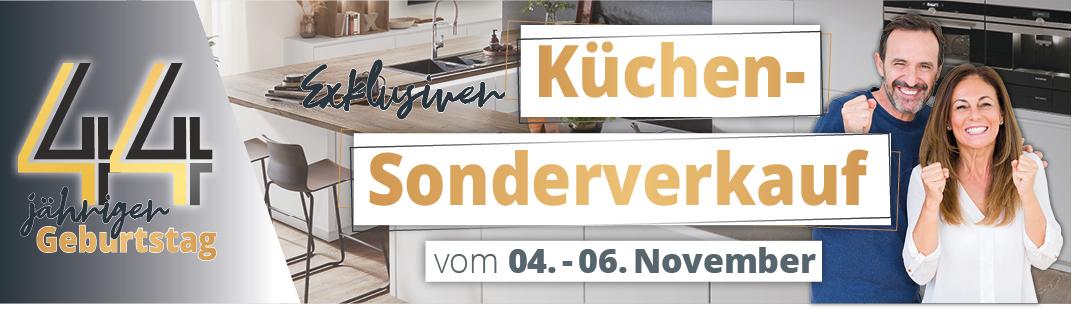 Exklusiver Küchen-Sonderverkauf bei Küchen pletl