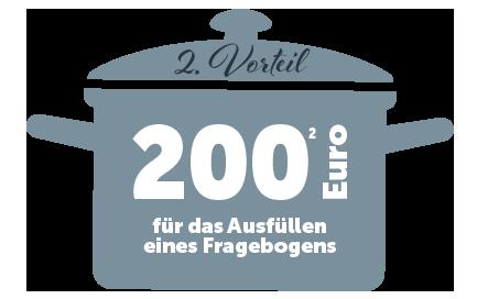 200 Euro geschenkt