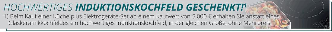 HOCHWERTIGES INDUKTIONSKOCHFELD GESCHENKT!