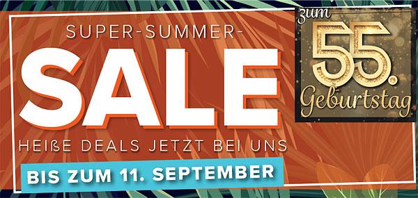 Möbel Strobel feiert 55. Geburtstag mit einem tollen Summer-Sale!