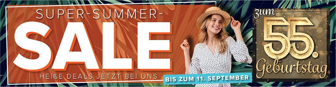 Möbel Strobel feiert 55. Geburtstag mit einem tollen Summer-Sale!!