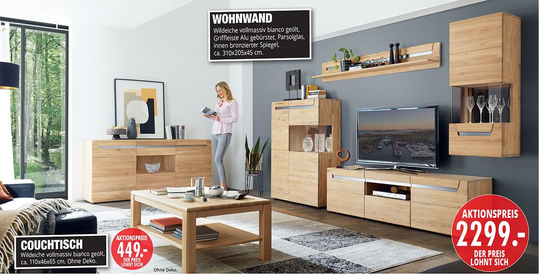 Möbel Hartwig - Home-Wohnkollektion - Wohnprogramm, Wohnwand
