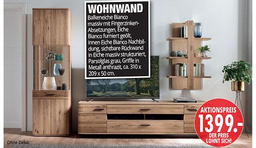 Möbel Hartwig - Home-Wohnkollektion - Wohnwand