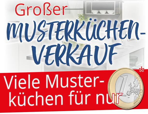 Grosser Musterküchen-Verkauf bei Möbel Hartwig!