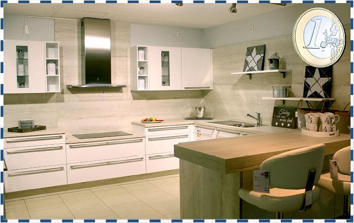 Ihre neue Küche für nur 1 Euro!
