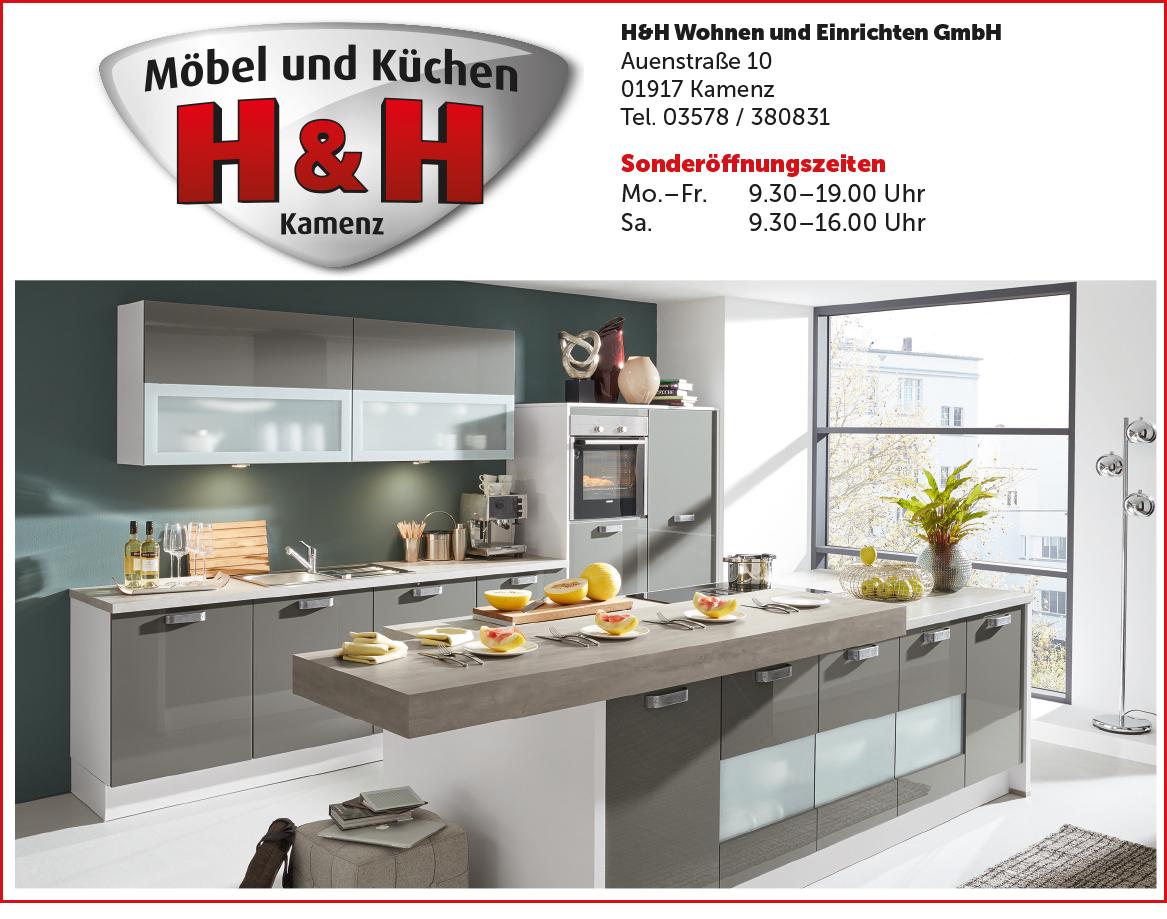 Küchen-Sonderverkauf bei H&H in Kamenz