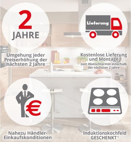 Exklusive Vorteile beim Küchen-Sonderverkauf bei Möbel und Küchen H+H in Kamenz - direkt Termin sichern
