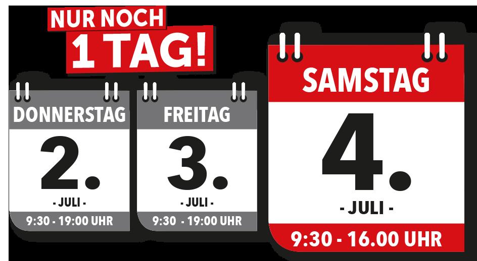 Nur 3 Tage Küchen-Sonderverkauf bei Möbel und Küchen H+H in Kamenz - direkt Termin sichern