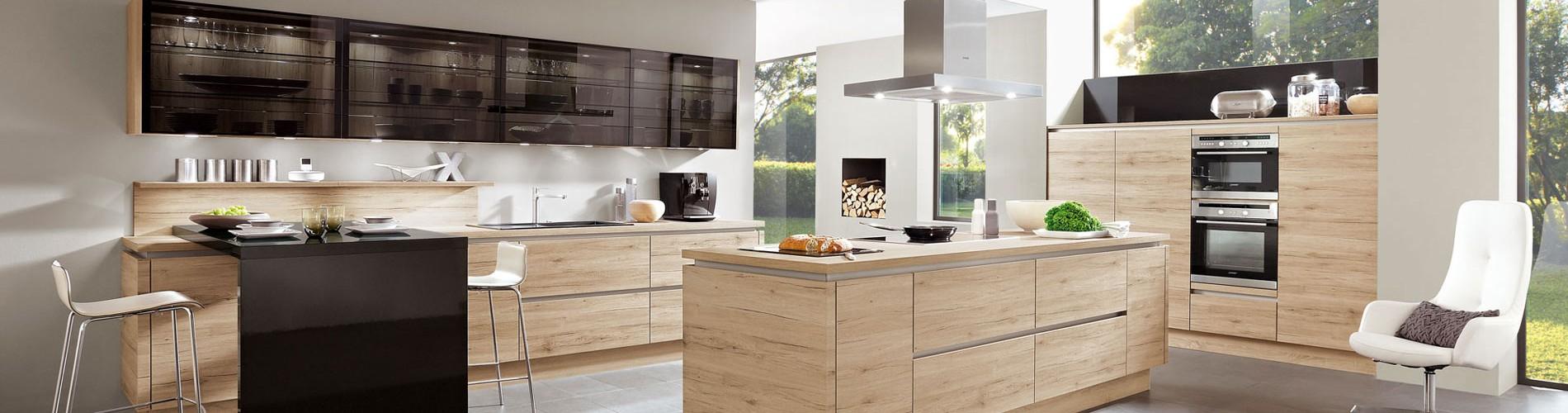 Zahlreiche Küchen-Fronten und Küchen-Designs für jeden Geschmack und Anspruch
