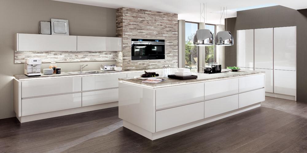 Design-Küche LUX819 von Nobilia - extra günstig zu Ausnahmekonditionen beim Küchensonderverkauf