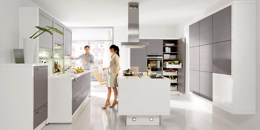 Design-Küche TrendLine von Nolte - extra günstig zu Ausnahmekonditionen beim Küchensonderverkauf