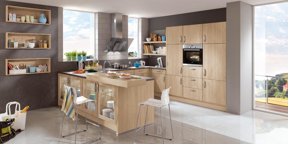 g nstig eine klassische k che frei planen beim k chen sonderverkauf. Black Bedroom Furniture Sets. Home Design Ideas