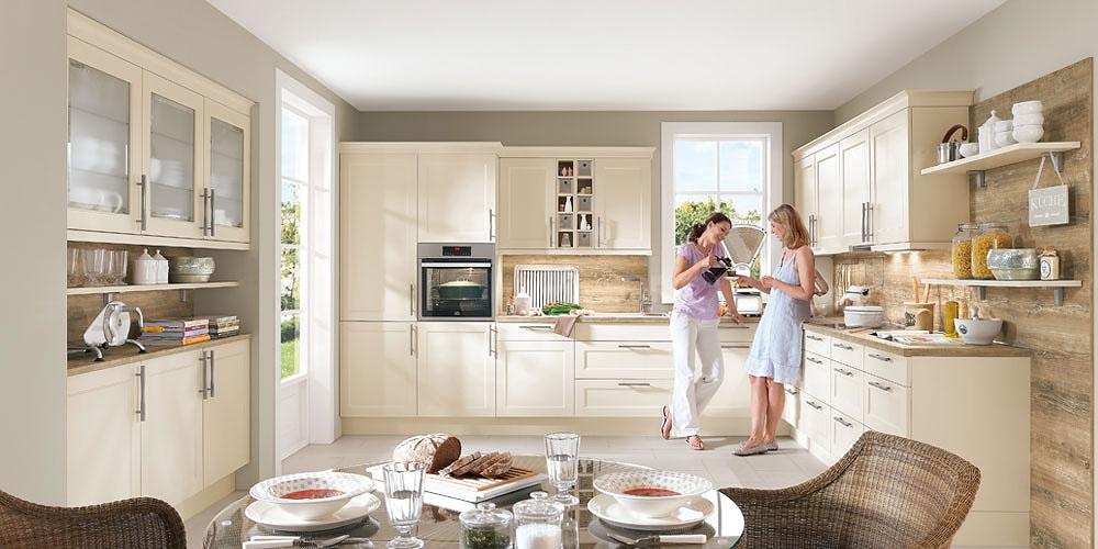 Country-Küchen Landhaus Küche Chalte von Nobilia, günstig kaufen: Küchen-Sonderverkauf