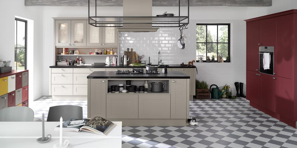 Günstige landhausküchen  Landhausküche - Bauernküche günstig kaufen beim Küchen-Sonderverkauf