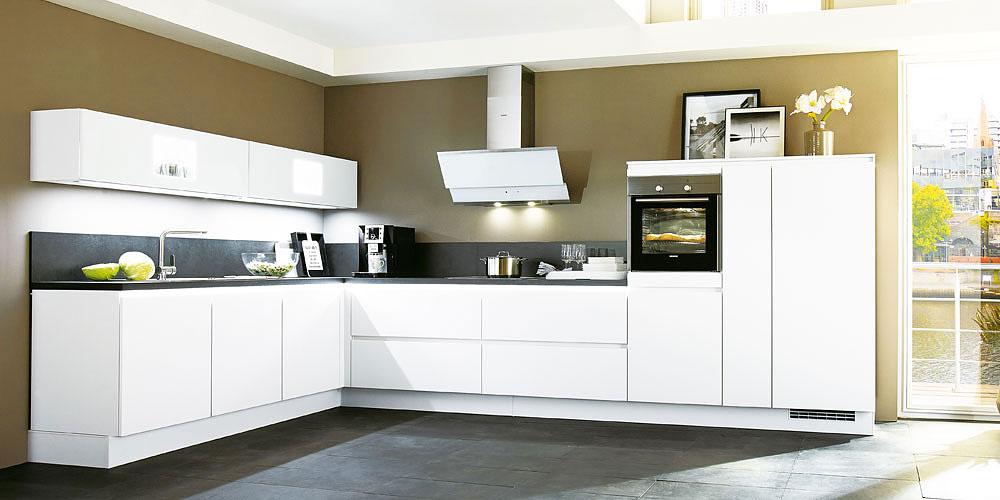 Moderne Küchen - Küche Laser 427 von Nobilia günstig kaufen, exklusive Vorteile nutzen beim Küchensonderverkauf