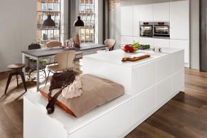 Nobilia Küche Inline 551 - extra günstig bei einem Küchen-Sonderverkauf kaufen