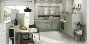 Landhausküche, Country-Küche günstig kaufen bei einem Küchensonderverkauf mit Ausnahmekonditionen