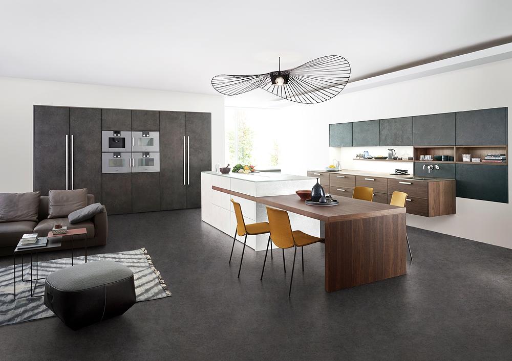 Küchensonderverkauf Concrete Von Leicht