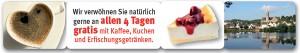 Lassen Sie sich beim Küchensonderverkauf verwöhnen an allen 4 Tagen mit Kaffee, Kuchen und Erfischungsgetränken gratis