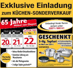 Küchen Bocholt termin übersicht für den bundesweiten küchen sonderverkauf