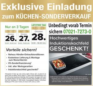 Super günstiger Küchensonderverkauf mit Jubiläumspreisen und exklusiven Vorteilen bei Möbel König in 73230 Kirchheim unter Teck! 40 Jahre Firmenjubiläum