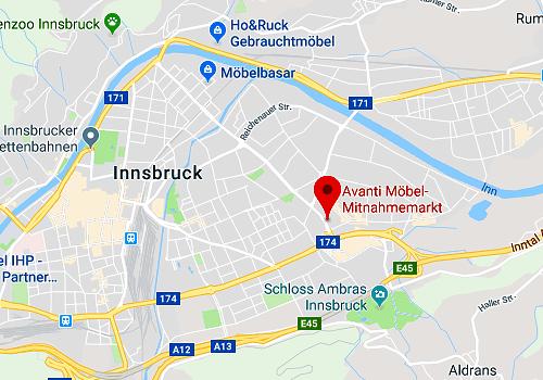 Exklusive Ausnahmekonditionen beim günstigen Küchensonderverkauf bei Avanti in 6020 Innsbruck