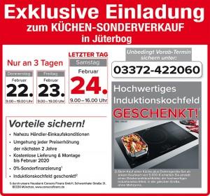 Exklusive Sondervorteile sichern beim günstigen Küchensonderverkauf bei Möbel Mit in 14913 Jüterbog