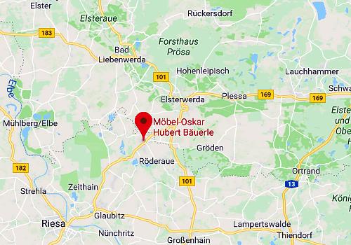 Küchensonderverkauf bei Möbel Oskar, Gröditz