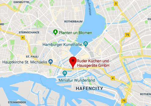 Küchensonderverkauf bei Ruder Küchen, 20457 Hamburg