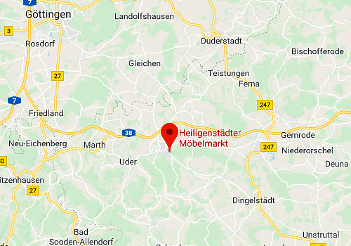 Küchensonderverkauf Heiligenstädter Möbeldiscounter, 37308 Heiligenstadt