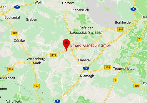 Küchensonderverkauf Kranepuhl's Optimale Möbelmärkte, 14806 Bad Belzig