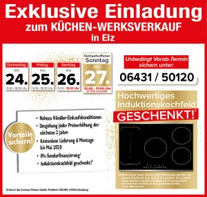 Exklusive Vorteile, 2 Jahre Planungssicherheit für den günstigen Küchenkauf bei Rolli in 65604 Elz