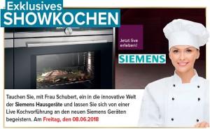 Exklusives Schaukochen beim Küchensonderverkauf, KÜCHENalliance, 95326 Kulmbach