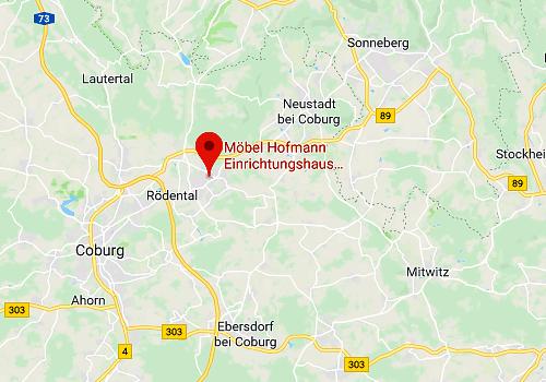 Küchensonderverkauf Möbel Hofmann, 96472 Rödental / Coburg