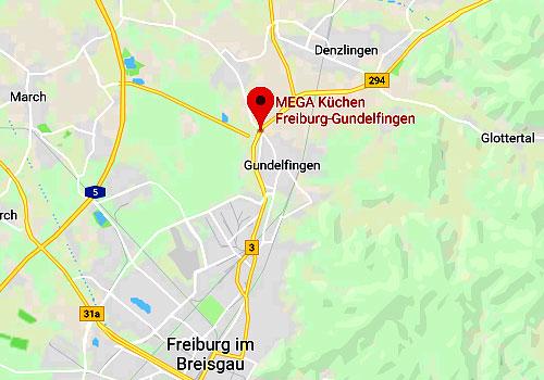 Küchen-Sonderverkauf Mega Möbel 79194 Freiburg-Gundelfingen