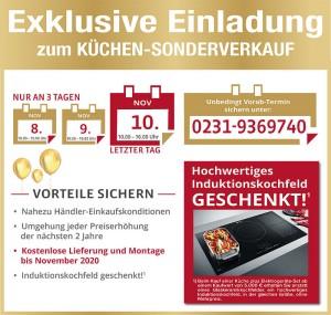 2 Jahre Planungssicherheit + Preisstabilität bis November 2020 - exklusive Vorteile und Ausnahmekonditionen beim günstigen Küchen-Sonderverkauf bei Möbel Drees in 44357 Dortmund nutzen!