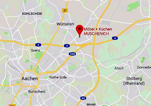 Küchen-Sonderverkauf bei Möbel + Küchen Muschenich in 52146 Würselen