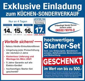 Günstig Küchen kaufen beim Küchensonderverkauf im Wohnzentrum Müller, 54538 Bengel, mit exklusiven Vorteilen!