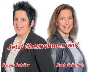 Generationswechsel - Sylvia Schütz & Ruth Stäglich