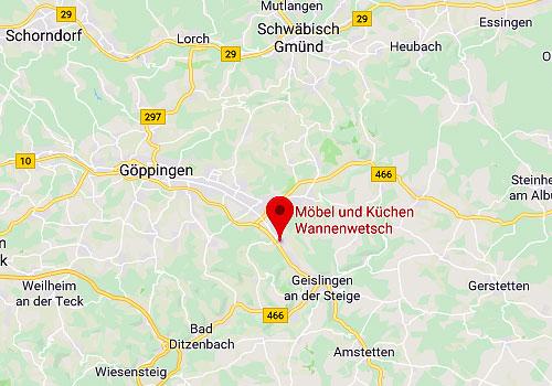 Möbel & Küchen Wannenwetsch in 73333 Gingen an der Fils