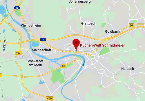 Küchen-Sonderverkauf Küchenwelt Schmidmeier, 63739 Aschaffenburg