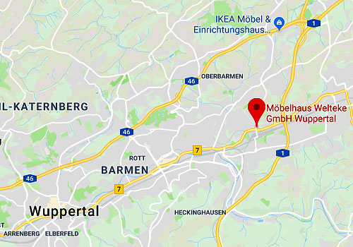 Küchen-Sonderverkauf Möbelhaus Welteke, 42389 Wuppertal-Langerfeld