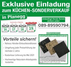 Exklusive Vorteile nutzen und günstig die neue Küche kaufen beim Küchen-Sonderverkauf bei Küche&Raum in 82152 Planegg