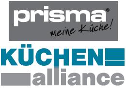 Logo KÜCHENalliance, Prisma-meine Küche Fachgeschäft