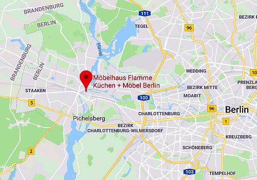 Flamme Küchen + Möbel, 13597 Berlin-Spandau