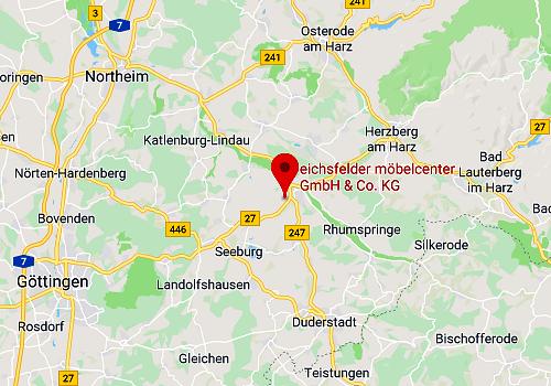 Küchen-Sonderverkauf Eichsfelder Möbelcenter, 37434 Gieboldehausen