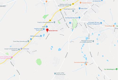 Küchen- Sonderverkauf bei Möbel SB Halle Heinrich-Wobst-Straße 4 07937 Zeulenroda-Triebes